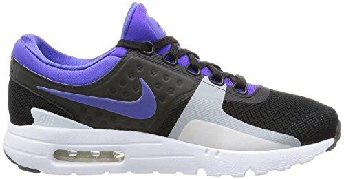 Nike Air Max Zero QS, Scarpe da Corsa Uomo Black Persian Violet White 004