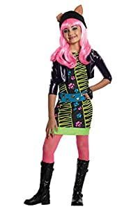 Monster High - Disfraz de Howleen Wolf para niña, infantil 3-4 años (Rubie