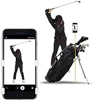 SelfieGOLF Record Golf Swing - Supporto Clip per telefoni cellulari e aiuti alla Formazione - Accessori per Il