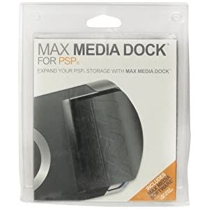 PSP MAX Media Dock (+Media Manager, Cable)