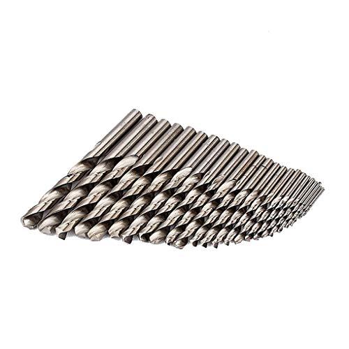 Kongnijiwa 25PCS / Set High Speed   Steel Spiralbohrer Kit Holz Bohren Loch geradem Griff Holzverarbeitung Holz Werkzeug