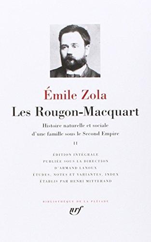 Les Rougon-Macquart, tome 2 par Emile Zola