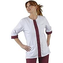Etiqueta Blusa Mujer Bata de laboratorio