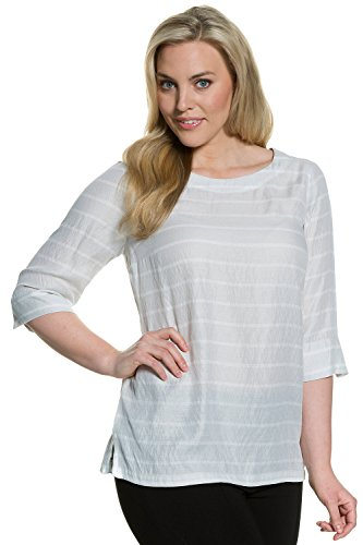 Ulla Popken Femme Grandes tailles Tunique 705836 galet