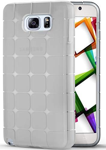 Note 5 | Hülle Silikon Transparent Clear Cube Back-Cover Ultra-Slim Silikonhülle Dünn Handy-Hülle für Samsung Galaxy Note 5 Case TPU Schutzhülle ()