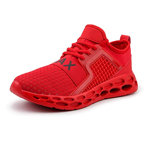 TRFLH& 2019 stylish Classic Ultra boosts Casual Men high Shoe Sneakers Outdoor Breathable Sapato Masculino Zapatos de Hombre Red 46.5