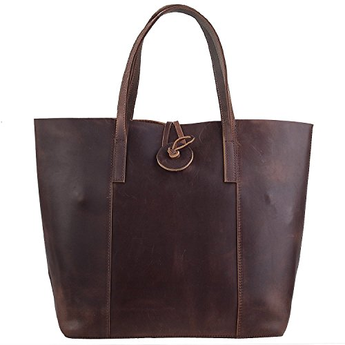 Hermiona Leather Tote Genuine Handbag Shoulder Ladies' Bag qpSzjUVGLM