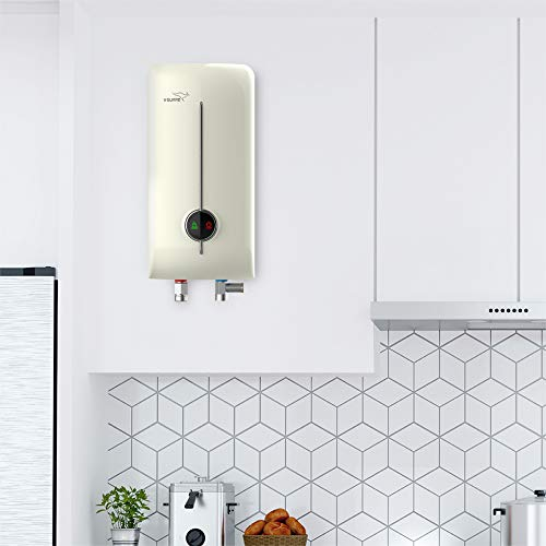 Victo Insta 3 L water heater with inlet and outlet hose