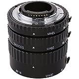 Meike MK-N-AF1-B - Anillo de extensión para Nikon D5200, D7000, D7100, D5000, D5100, D3100, D3000, D800, D600, D300, D300s, D90, D80