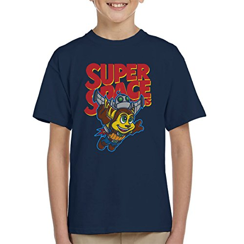 Super Space Bros Ratchet And Clank Kid's T-Shirt