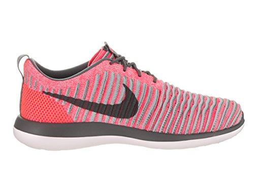Nike Roshe Two Flyknit (GS) Sneaker Turnschuhe Schuhe für Kinder Rot (Hot Punch/Wolf Grey/White/Dark Grey) EbEY3u