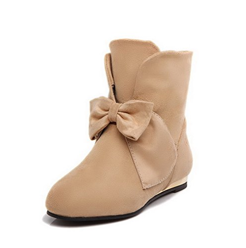 agoolar-womens-round-closed-toe-low-heels-frosted-low-top-solid-boots-apricot-34