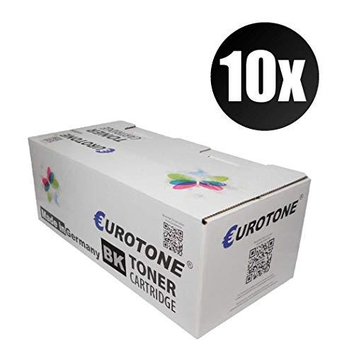 10x Eurotone Toner für Tally 9045 N ersetzt 43848 Schwarz Black Patronen Druckerpatronen -