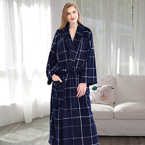 mantel Paar Herbst und Winter Plus Dünger, um Pyjamas Frauen Männer Verdickung Robe zu erhöhen (Color : 5#, Size : XXL) ()