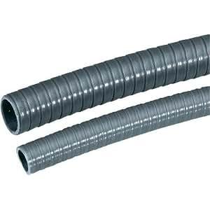 Gaine de protection de câble en PVC Ø int 14 mm Ø ext 18 mm gris-argent (RAL 7001) LappKabel SILVYN® SP 61714020