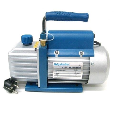 Vakuumpumpe 70 L/MIN Unterdruckpumpe Split Vacuum Pump Drehschieber 220 Volt -