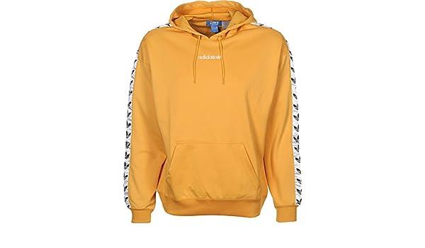 adidas originals sweat à capuche tape homme jaune