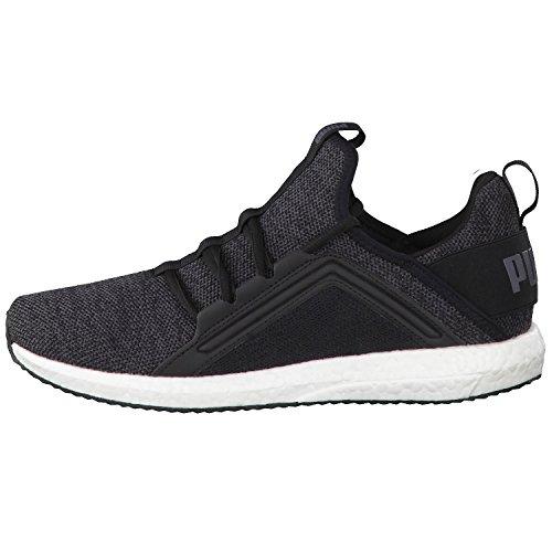 Puma Herren Mega Nrgy Knit Outdoor Fitnessschuhe Schwarz (Black-Asphalt)