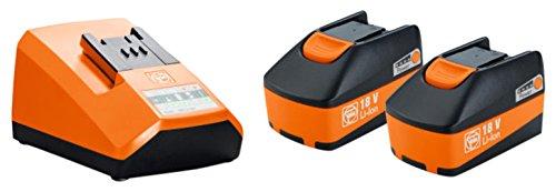 Preisvergleich Produktbild Akku-Starter Set 18 V 5 Ah | Fein Select+ 2 in 1 Pack | geeignet für verschiedene Akku-Elektrowerkzeuge | mit passendem Ladegerät