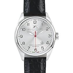 "Bello & Preciso italienische Herren-Armbanduhr Modell ""43"" Argento"