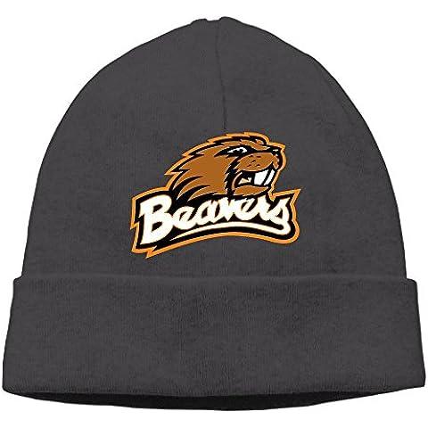 hittings hotgirl4Oregon State Beaver Men and Women Fashion Knitted Beanie Skull Caps Black