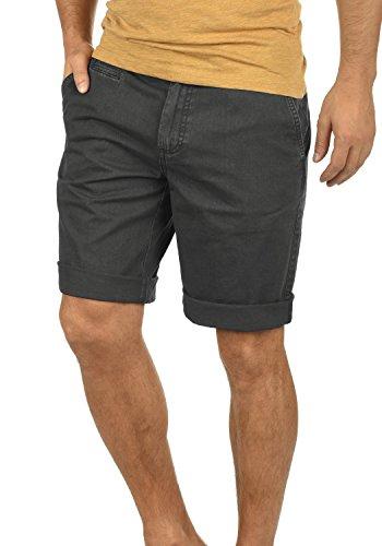 SOLID Viseu Herren Chino-Shorts kurze Hose Business-Shorts aus 100% Baumwolle Dark Grey (2890)