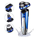 Best Electric Razor Under 100s - Electric Razor for Men homeasy 4D Rechargeable Battery Review