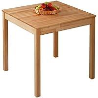 Esstisch Massivholz Buche 100% FSC Tomas Esszimmertisch Massivholz Tisch  (75 X 75 X 75