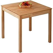 krokwood tomas massivholz esstisch in buche 75x75x75 cm fsc100 massiv beistelltisch geolt buchenholz esszimmertisch kuche