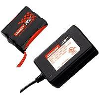Carrera RC 370800011 - Tuning-Akku und Tuning-Ladegerät für Carrera RC 2,4GHz Fahrzeuge + Boot (11,1V 1500mAH Akku + 12,6V 800mA)