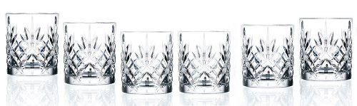 RCR Weinglas-Set, Crystal Melodia Collection Dual Old Fashioned Double Old Fashion -