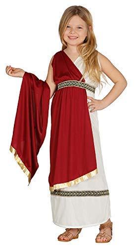 Fancy Me Mädchen Römisch Kaiserin Grichischer Griechische Göttin Schule International Historisch Kostüm Kleid Outfit 5-12 Jahre - 5-6 Years (Römische Mädchen Kostüm)
