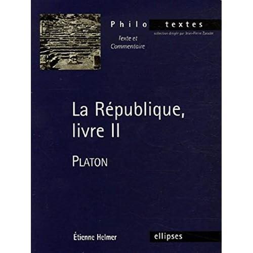 La République, livre II : Platon