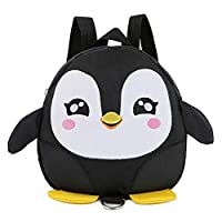 Joyfeel buy Children School Bags Anti-Lost Backpacks Cute Penguin Shape Bags Cartoon Bookbags School Student Satchel