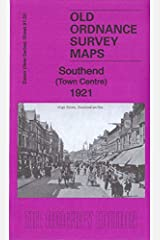 Southend Town Centre 1921: Essex Sheet 91.02 (Old Ordnance Survey Maps of Essex) Map