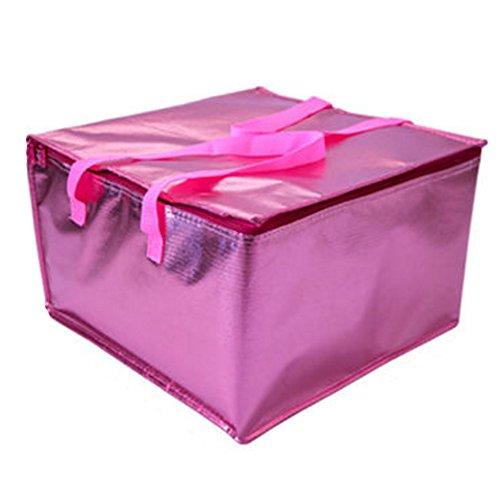 Alien Storehouse Wiederverwendbare Lebensmittelgeschäft-Einkaufstaschen - Bunte zusammenklappbare Isolierkühlertorte-Tasche,#B1