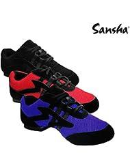 SANSHA V931m Salsette 1 Chaussures de Danse Femme