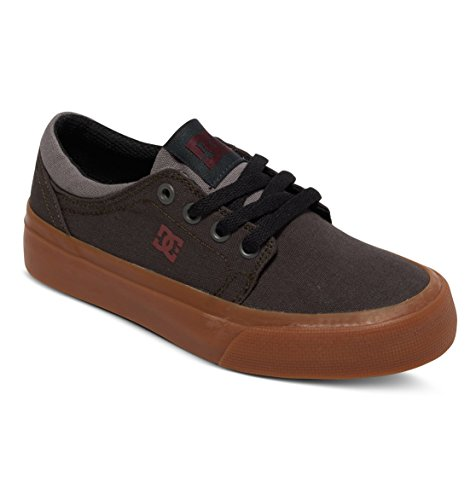 DC TRASE TX B XBCB Jungen Sneakers Grey/Grey/Red