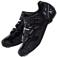 VeloChampion Elite Road Cycling Shoes (pair) Black 42