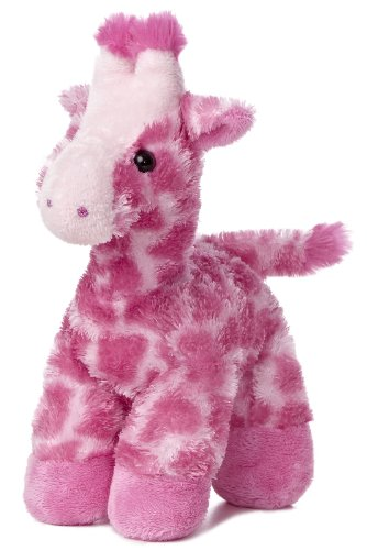 Giraffe Pink, Kuscheltier ca. 20 cm (Melman, Die Giraffe)