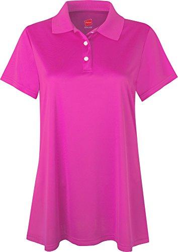 Hanes - T-shirt de sport - Manches Courtes - Femme - Wow Pink