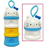 3 Rack Milk Powder Container Bottle Case Cup, Kids Baby 3 Layers Milk Powder Container Case Bottle Dispenser, Travel Feeding Container Formula Dispenser Stackable Food Storage Pots Container For Baby
