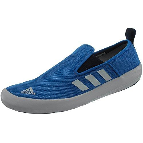 adidas Boat Slip-On Deluxe AQ5203 Unisex - Erwachsene Wassersportschuhe/Bootsschuhe/Segelschuhe Blau 43 1/3