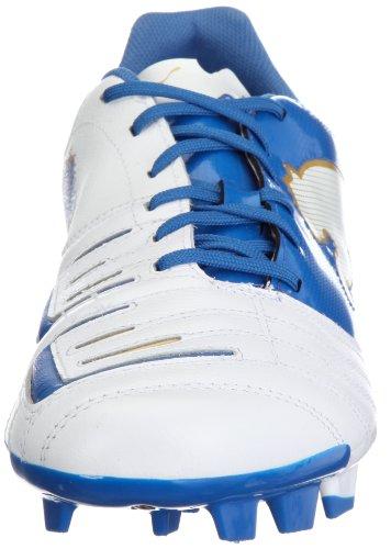 Puma, Powercat 3.12 Fg, Chaussures De Sport, Unisexe - Blanco / Blue Adult