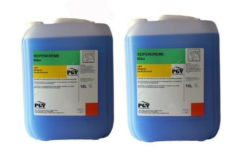 Savon - Bleu - Savon Liquide Crème-savon Savon Liquide 10 Liter Bidon - dans Différent Mélanger - 2 x 10 Liter