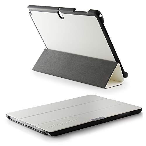 Für Galaxy NotePro 12.2 Tasche von safegoods® Etui Weiss Case Cover Schutz Sleep & Wake up kompatibel Samsung Galaxy Note Pro 12.2 Tablet P900 P905