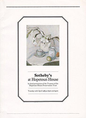 Sotheby's at Hopetoun House - Hopetoun House
