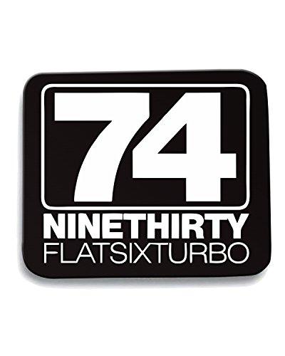 Cotton Island - Tappetino Mouse Pad TB0150 Nine Thirty Flat Six Turbo Porsche, Taglia taglia unica