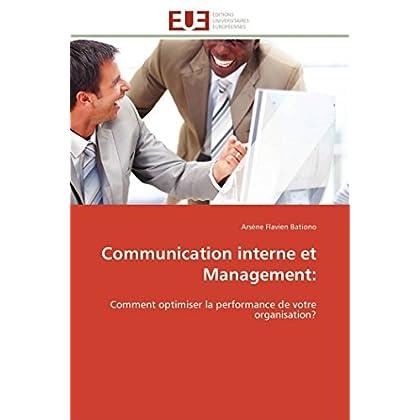 Communication interne et management: