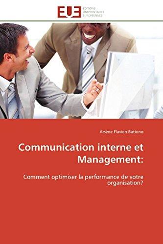 PDF Téléchargement Communication interne et management